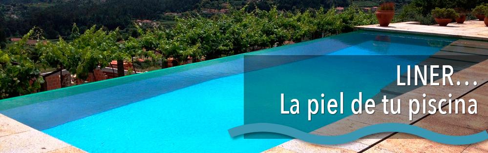 L mina armada piscinas de liner en tarragona liner armado for Limpiadores de piscinas