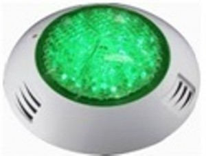 proyector piscina extraplano led verde