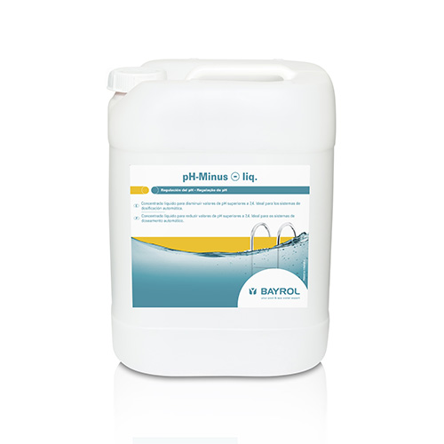 Reguladores de ph productos para regular el ph del agua de for Como subir el ph de la piscina