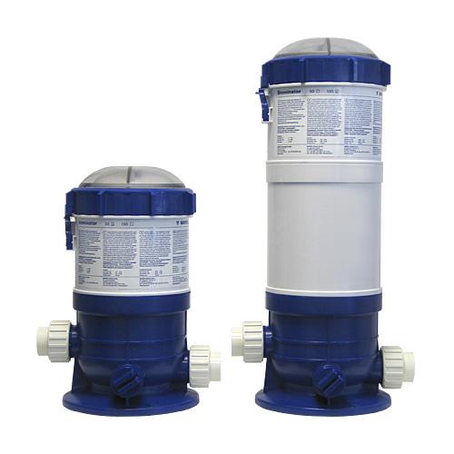Dosificadores de pastillas para cloro bromo y oxigeno for Bromo para piscinas